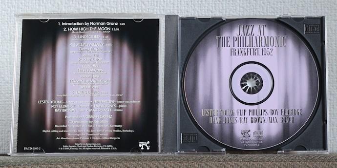品薄CD/JAZZ/レスター・ヤング/ハンク・ジョーンズ/ロイ・エルドリッジ/レイ・ブラウン/マックス・ローチ/Lester Young/Hank Jones/JATP_画像3