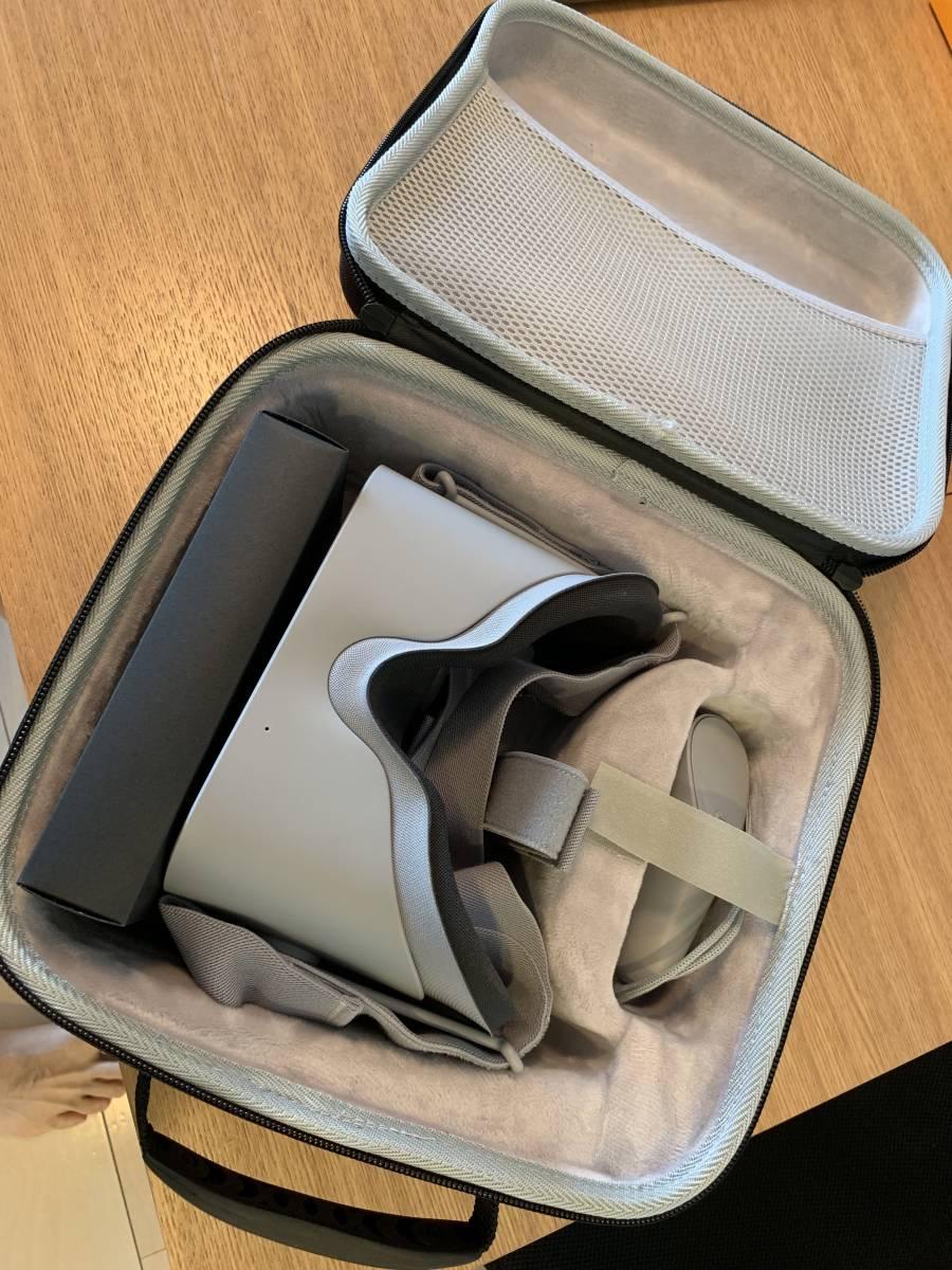【中古・美品】 VRモニタ Oculus GO オキュラス 32GB + フィットパーツ + ケース_画像2