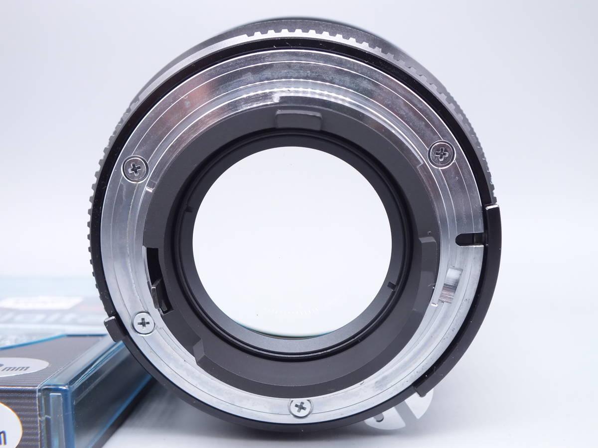 美品/Carl Zeiss Planar 85mm 1:1.4 ZF T*/カールツァイス 一眼カメラレンズ/ニコン用/単焦点 MF Ai-s/NIKON/メタルフード 他付属/管C0620_画像4