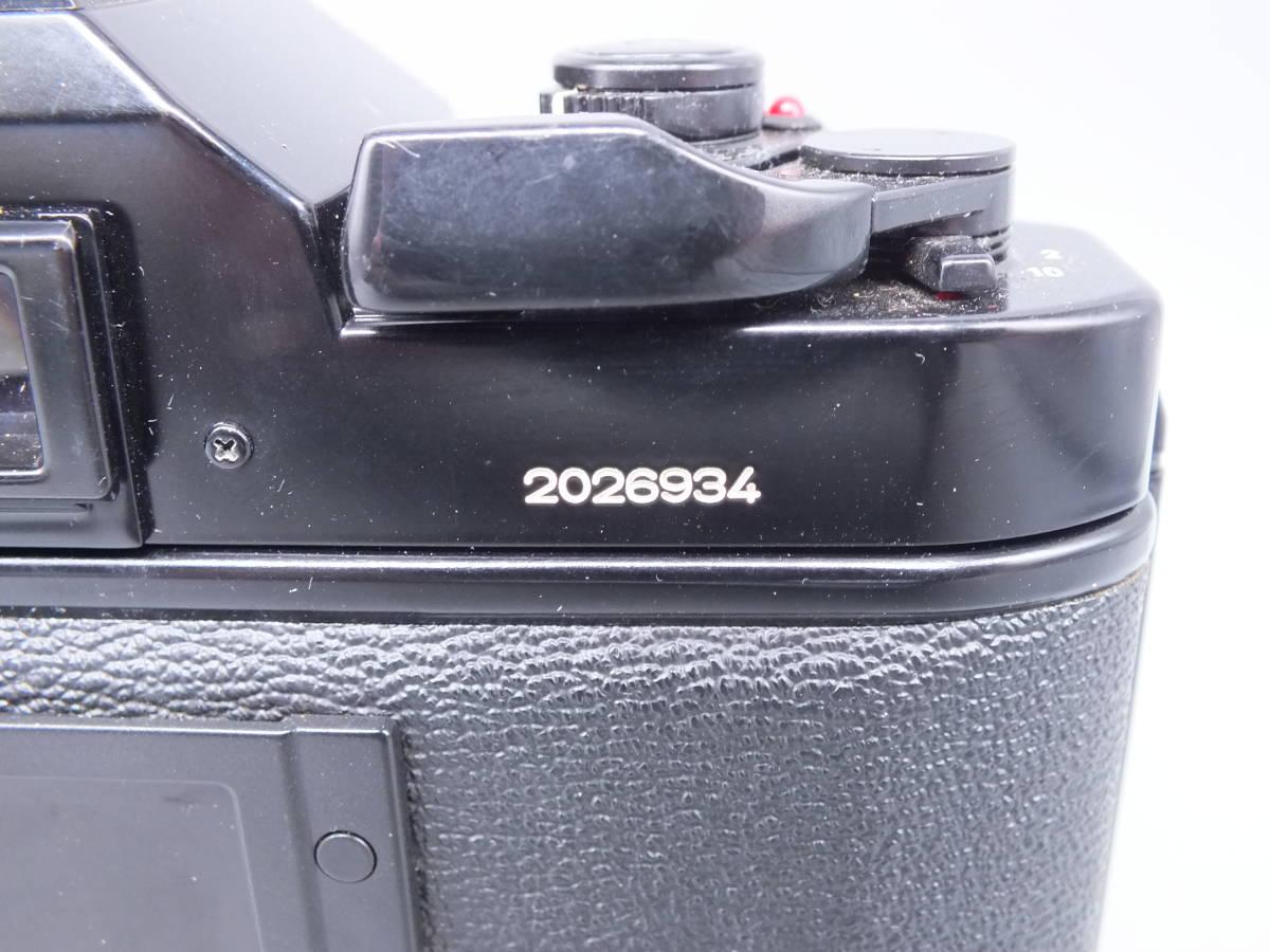 CANON キヤノン/一眼レフカメラ A-1/MF フィルムカメラ/ボディのみ/動作品/管C0640_画像4