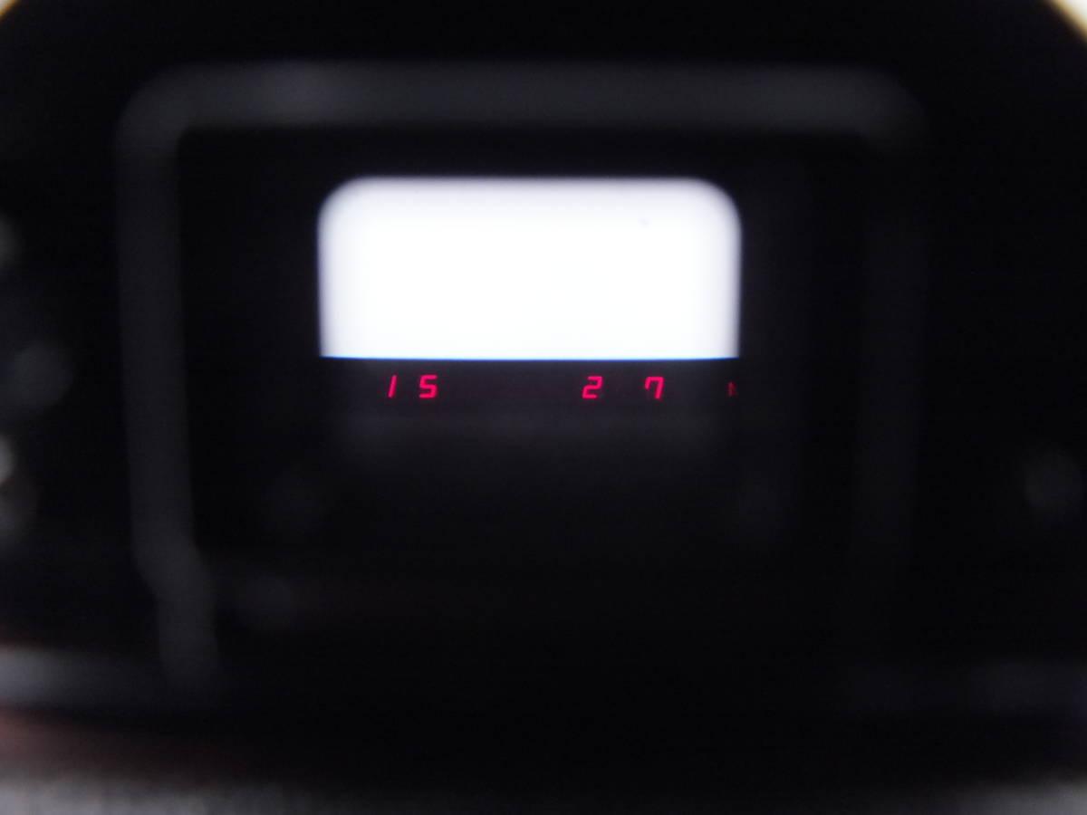 CANON キヤノン/一眼レフカメラ A-1/MF フィルムカメラ/ボディのみ/動作品/管C0640_画像8
