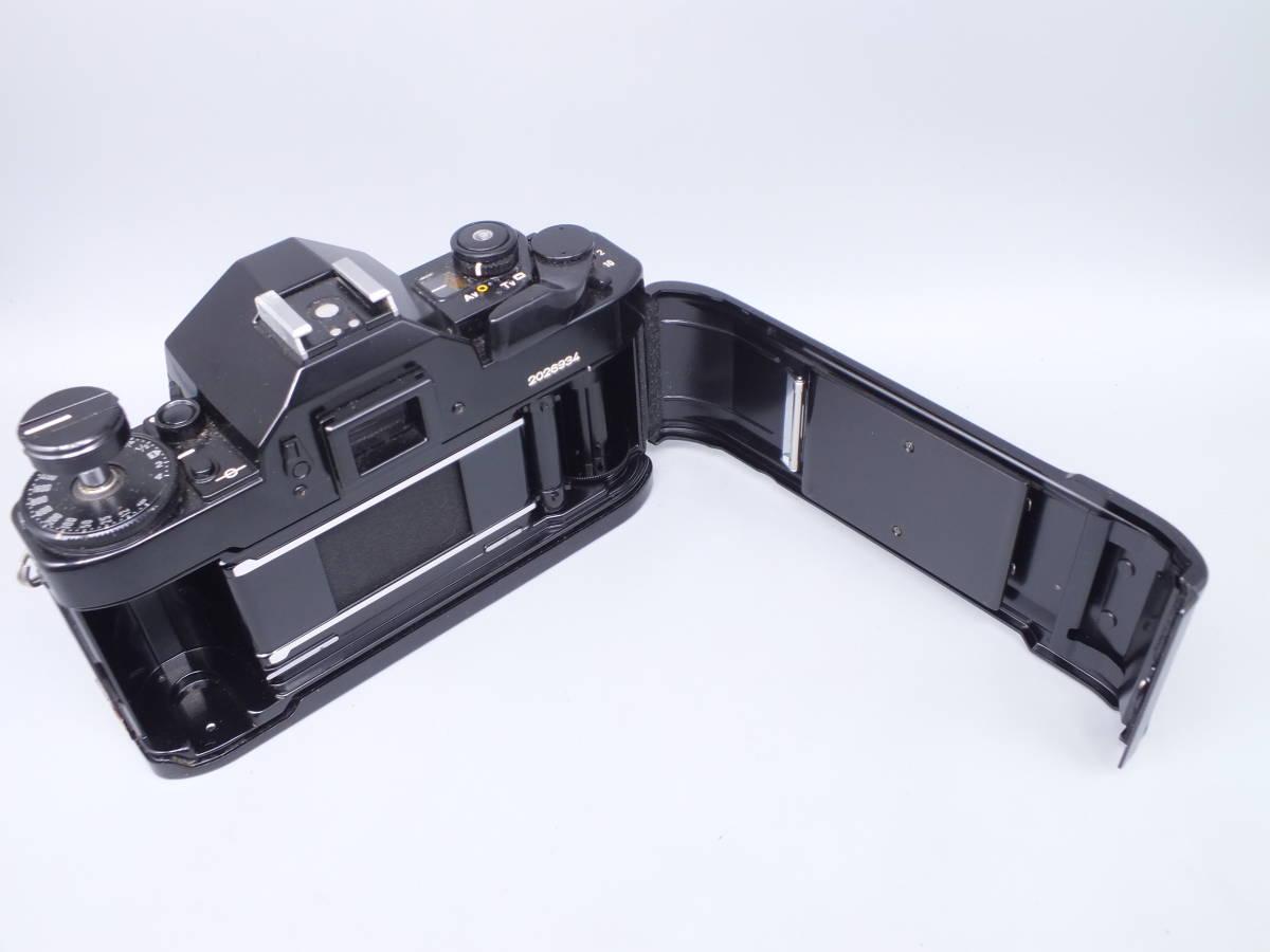 CANON キヤノン/一眼レフカメラ A-1/MF フィルムカメラ/ボディのみ/動作品/管C0640_画像6