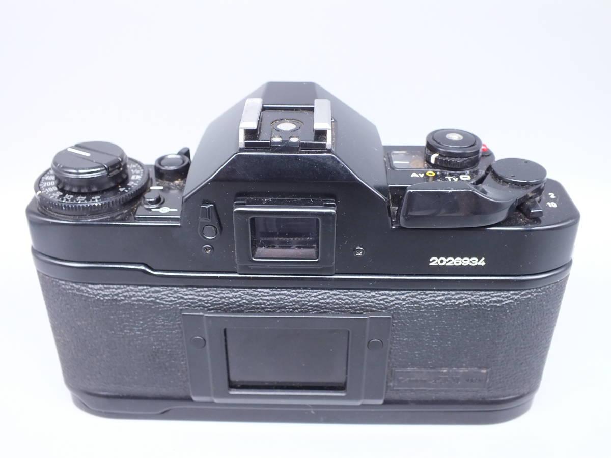 CANON キヤノン/一眼レフカメラ A-1/MF フィルムカメラ/ボディのみ/動作品/管C0640_画像3