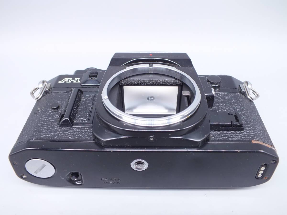 CANON キヤノン/一眼レフカメラ A-1/MF フィルムカメラ/ボディのみ/動作品/管C0640_画像5