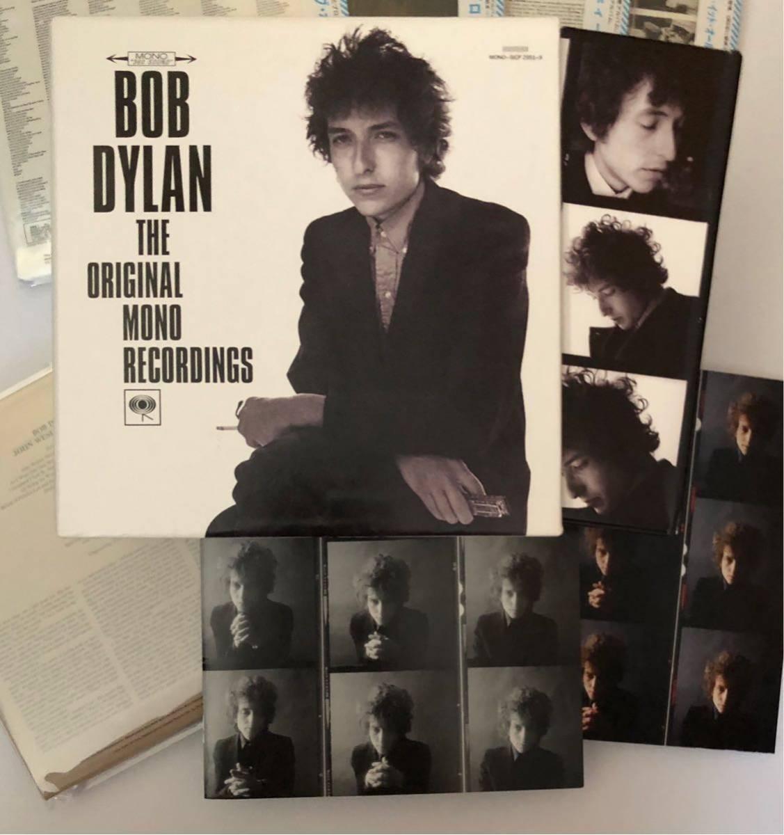 BOB DYLAN MONO BOX 9CD 国内 紙ジャケ キャップ帯付き 解説 日本語ブックレット_画像3