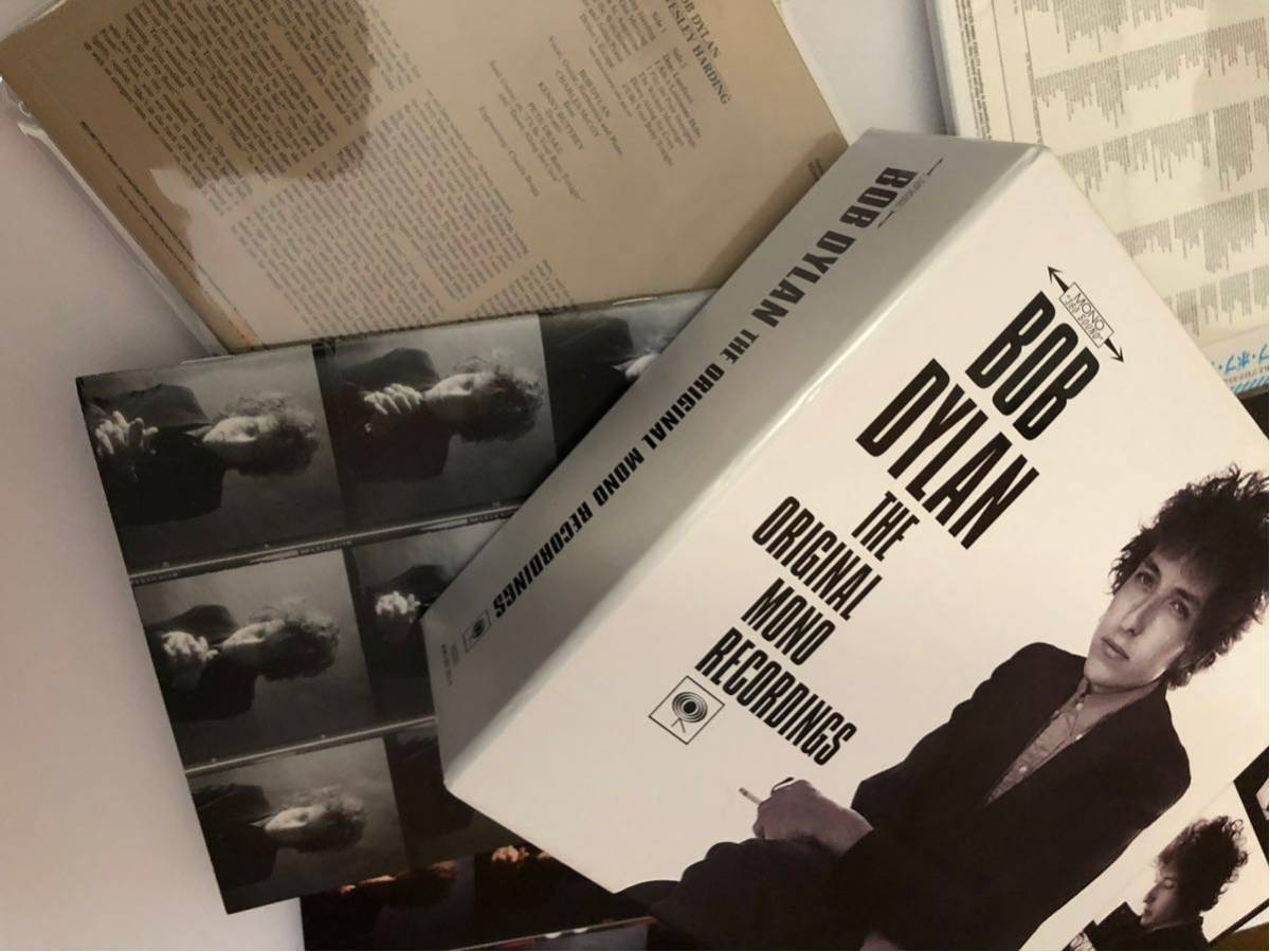 BOB DYLAN MONO BOX 9CD 国内 紙ジャケ キャップ帯付き 解説 日本語ブックレット_画像4