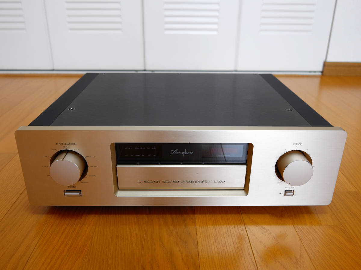 Accuphase アキュフェーズ C-290 最終生産品_画像2