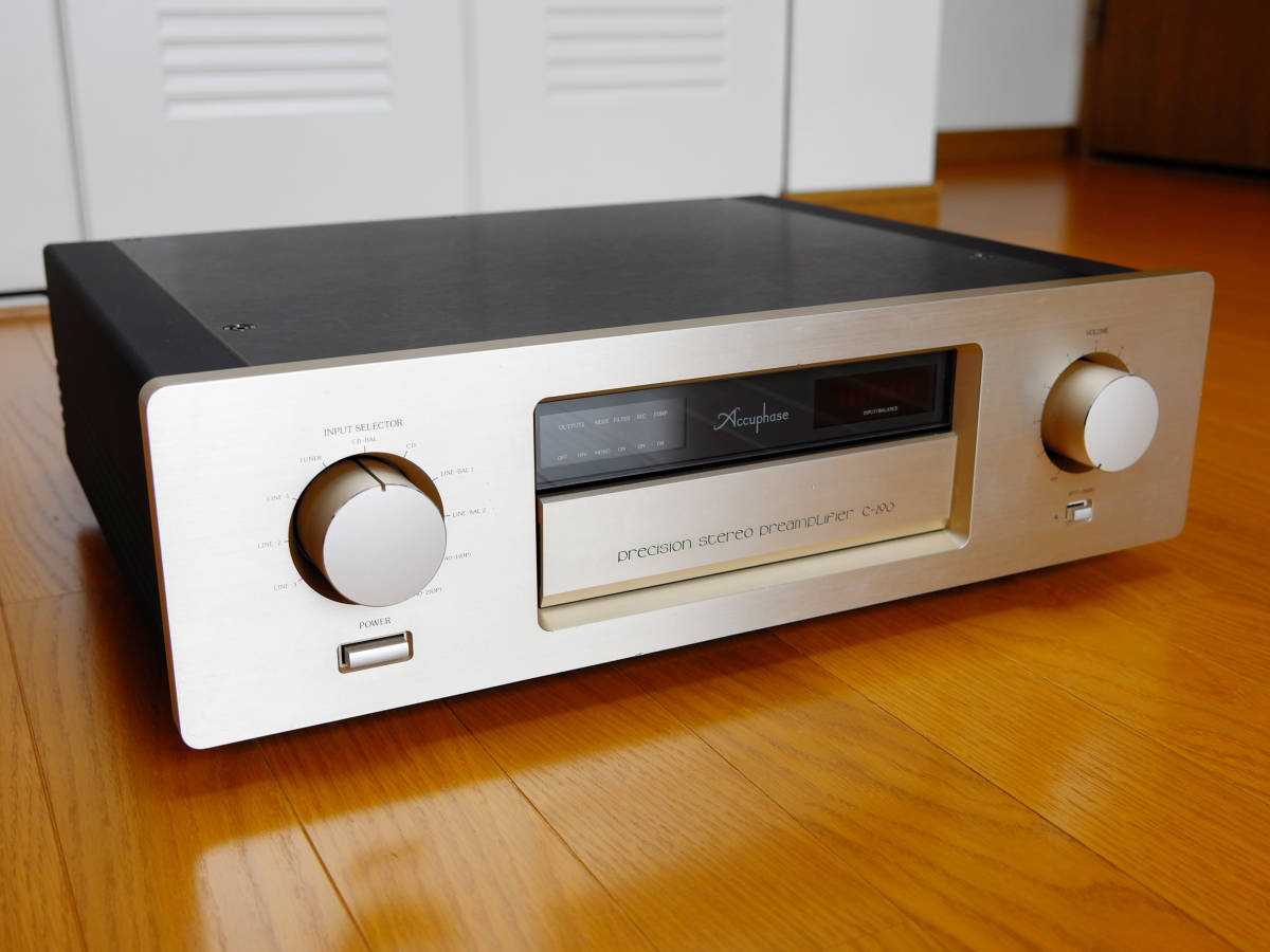 Accuphase アキュフェーズ C-290 最終生産品