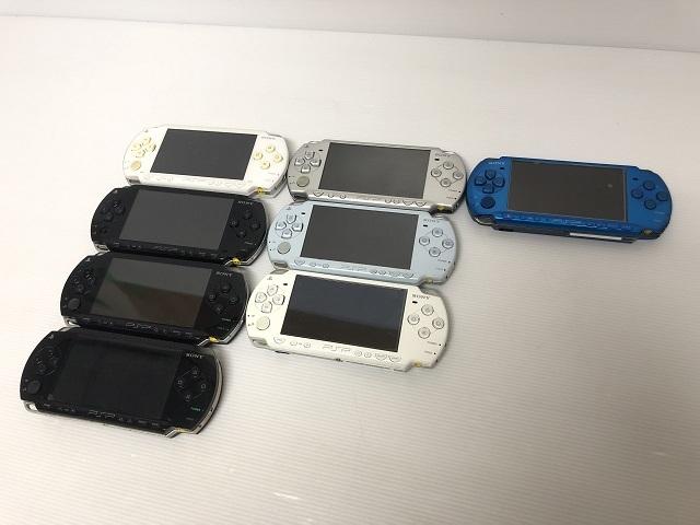 6223【SONY/ソニー】PSP本体 PSP-1000/2000/3000 計8台セット・ジャンク