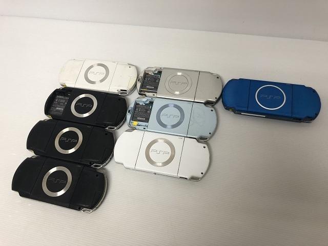 6223【SONY/ソニー】PSP本体 PSP-1000/2000/3000 計8台セット・ジャンク_画像4