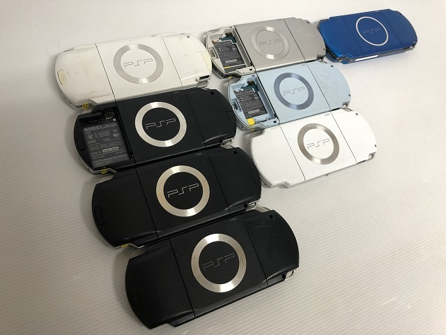 6223【SONY/ソニー】PSP本体 PSP-1000/2000/3000 計8台セット・ジャンク_画像5