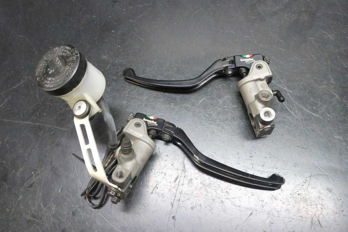 ブレンボ ラジアルブレーキマスター&クラッチマスター 難有り CB1300SFにて使用
