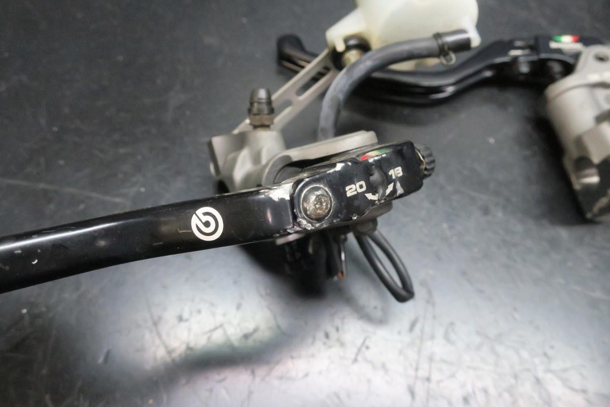ブレンボ ラジアルブレーキマスター&クラッチマスター 難有り CB1300SFにて使用_画像3