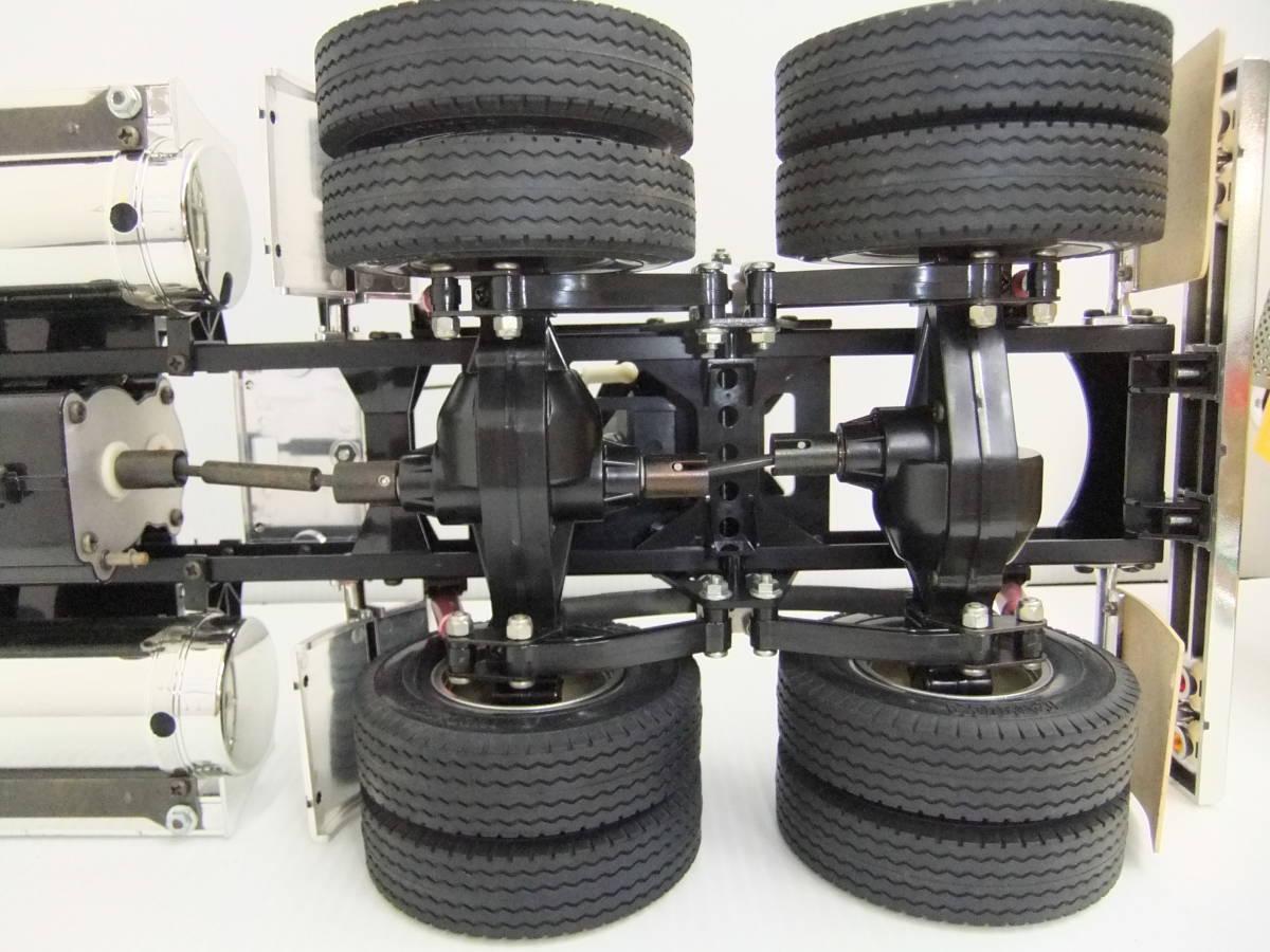 E9D肆◆【ジャンク品】タミヤ ラジコン ビッグトラックシリーズ No.04 トレーラーヘッド グローブライナー_画像8
