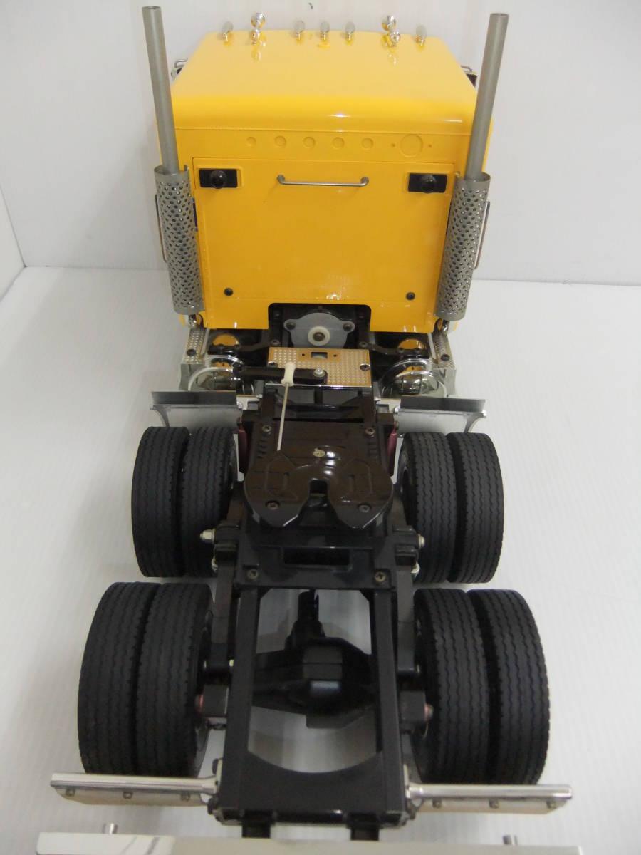 E9D肆◆【ジャンク品】タミヤ ラジコン ビッグトラックシリーズ No.04 トレーラーヘッド グローブライナー_画像5