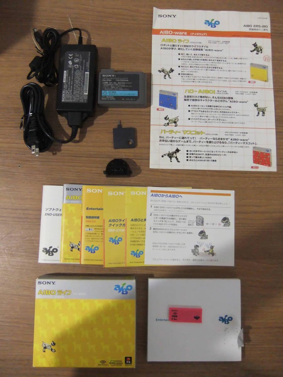 E5E肆◆【ジャンク品】SONY AIBO ERS-210_画像2