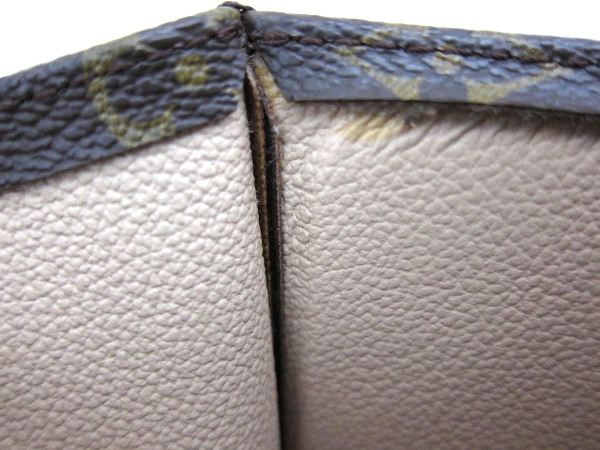 新品同様 極美品 LOUIS VUITTON ルイ ヴィトン モノグラム サックプラ トートバッグ ハンドバッグ フランス製 MI1001 メンズ レディース _画像9