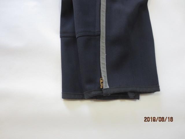 U.S.白バイ警官 LAPD ロス市警 ブリーチ(ズボン)紺色、中古_画像8