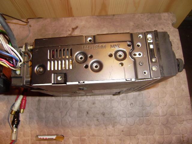 アルパイン カセットデッキ 7280J 動きました、が古い物ですのでメンテは必須です。_画像3