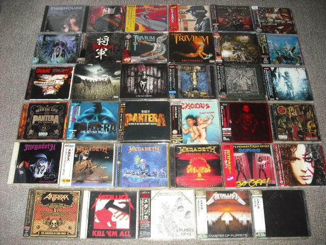 大量◆HR/HM◆ハードロック・ヘヴィメタル系CDアルバムまとめて100枚セット◆貴重レア廃盤・旧規格盤などお宝CD多数◆70~80年代中心