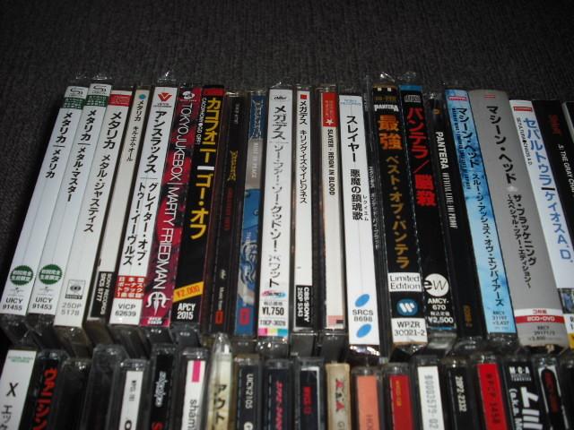 大量◆HR/HM◆ハードロック・ヘヴィメタル系CDアルバムまとめて100枚セット◆貴重レア廃盤・旧規格盤などお宝CD多数◆70~80年代中心_画像6