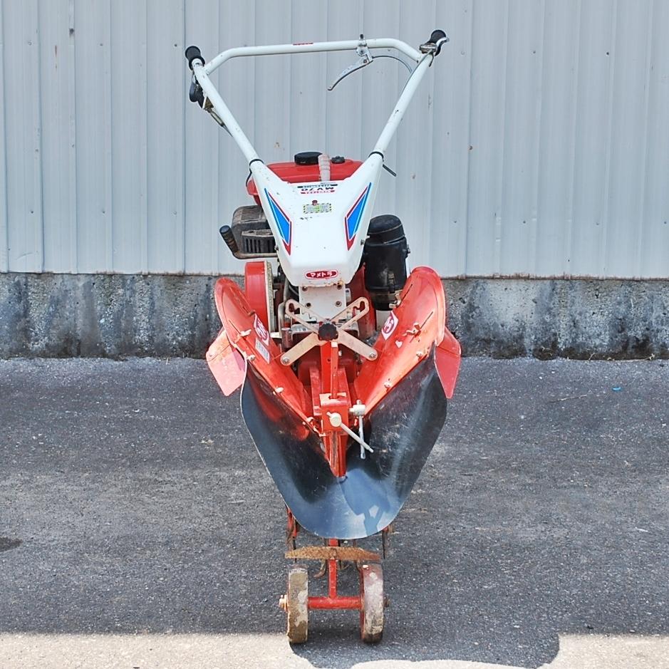 【新潟発】マメトラ 管理機 MV-70 リターンカルチ 7馬力 耕耘機 農用トラクター 歩行型 畝立て 中古_画像8