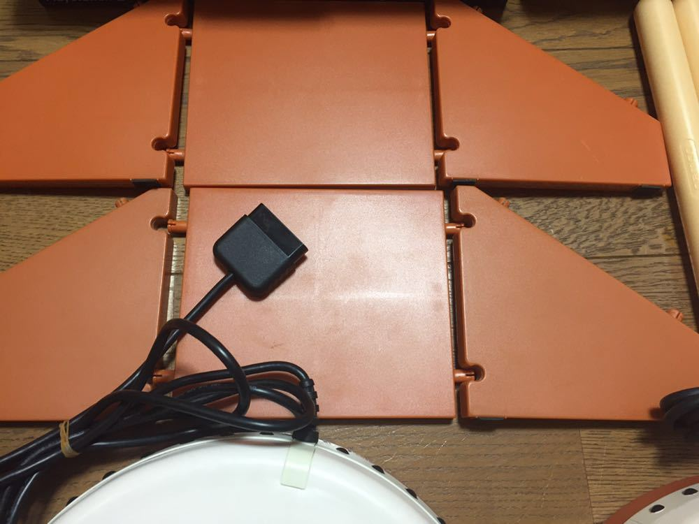 PS2 プレイステーション2 太鼓の達人 タタコン ソフト3本 2人プレイ用 箱付き 大盛り7代目 ドドンがドン_画像4