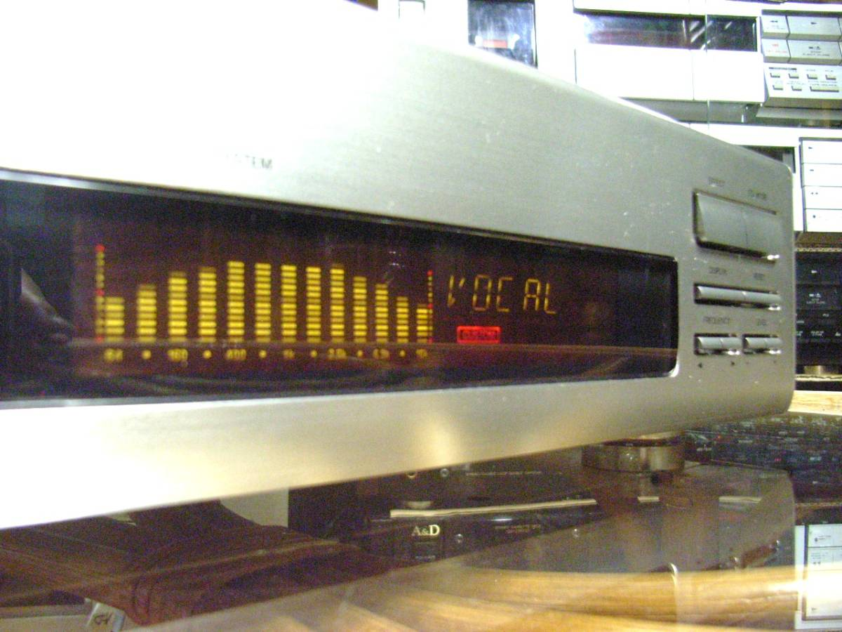 ONKYO EQ-211M STEREO GRAPHIC EQUALIZER 左右チャンネル一体 13素子構成 グラフィックイコライザー オンキョー製 作動確認メンテ済み_画像3