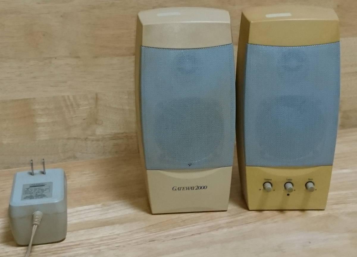 中古品 PC スピーカー/Altec Lansing Multimedia ACS41 /Gateway 2000 Computer Speakers_画像3