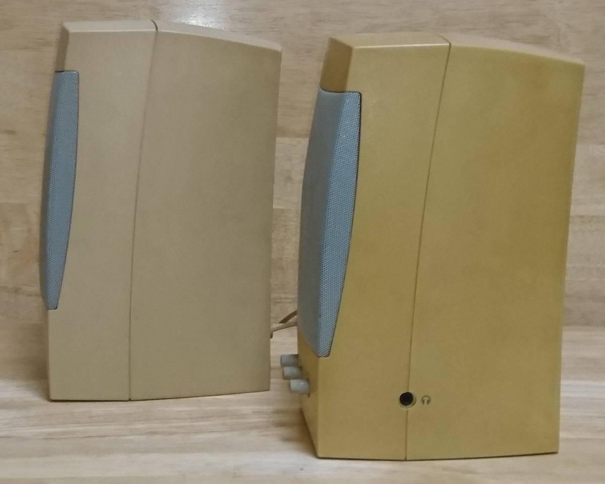 中古品 PC スピーカー/Altec Lansing Multimedia ACS41 /Gateway 2000 Computer Speakers_画像4