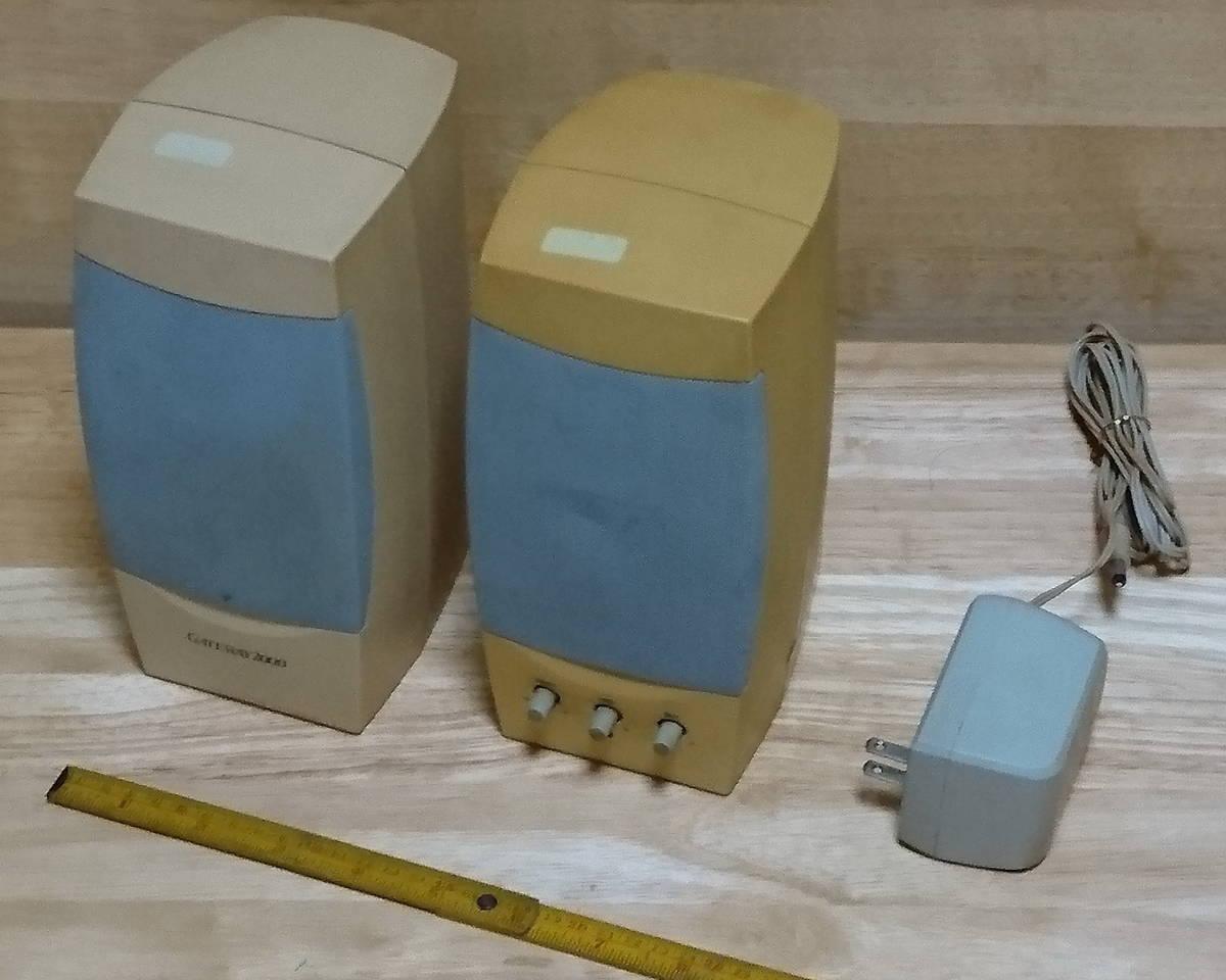 中古品 PC スピーカー/Altec Lansing Multimedia ACS41 /Gateway 2000 Computer Speakers_画像1