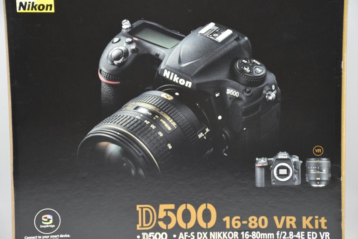 1円~ D500 16-80VRキット 元箱あり 付属品あり 美品。_画像9