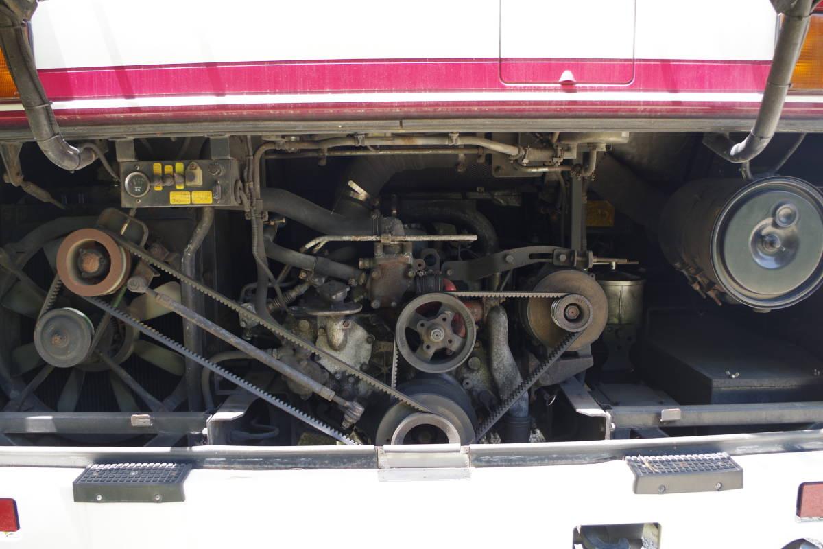 希少車、 H2年日野ブルーリボン9mサロンバス 走行約32万キロ RU192_画像6