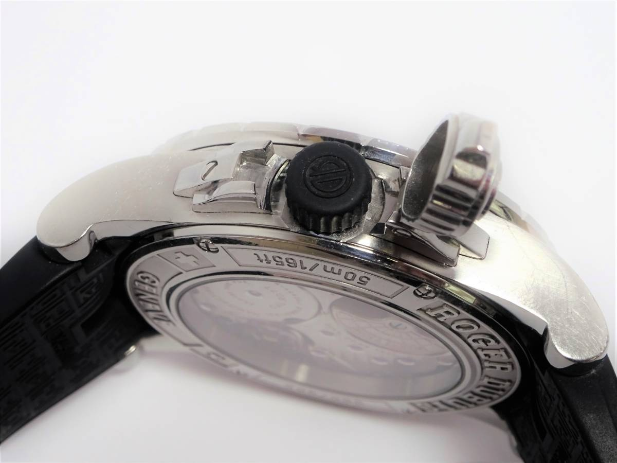 W7301 ロジェデュブイ EX457799.71R エクスカリバー 世界限定888本 メンズ 自動巻き 純正ブレス 時計 付属品付き 日本最安 定価約200万_画像4