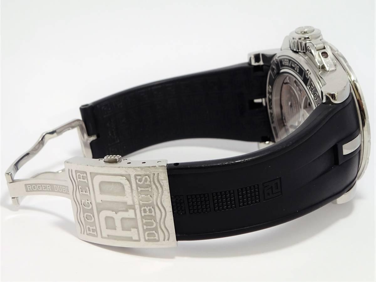 W7301 ロジェデュブイ EX457799.71R エクスカリバー 世界限定888本 メンズ 自動巻き 純正ブレス 時計 付属品付き 日本最安 定価約200万_画像6
