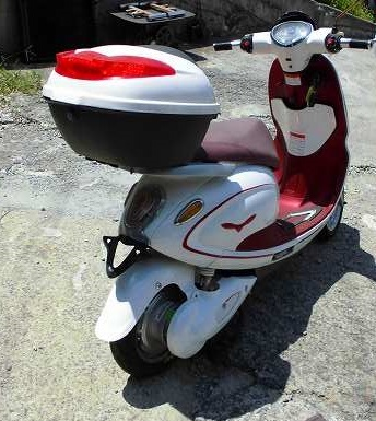 「電動バイク yuppe ユッペ ジャンク 部品取 50CC」の画像2