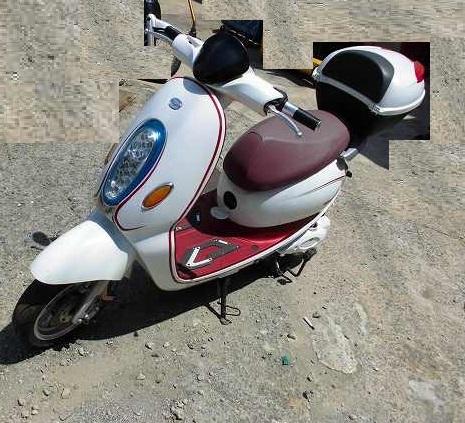 「電動バイク yuppe ユッペ ジャンク 部品取 50CC」の画像3