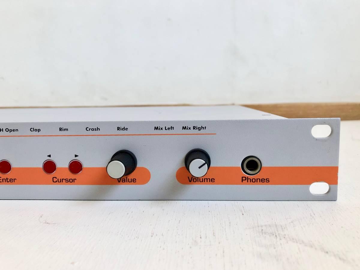 名器美品 JOMOX AirBase 99 /ラックタイプ アナログ PCMドラム音源モジュール リズムマシン / 純正アダプター 付属(検 Roland TR909 TR808)_画像4