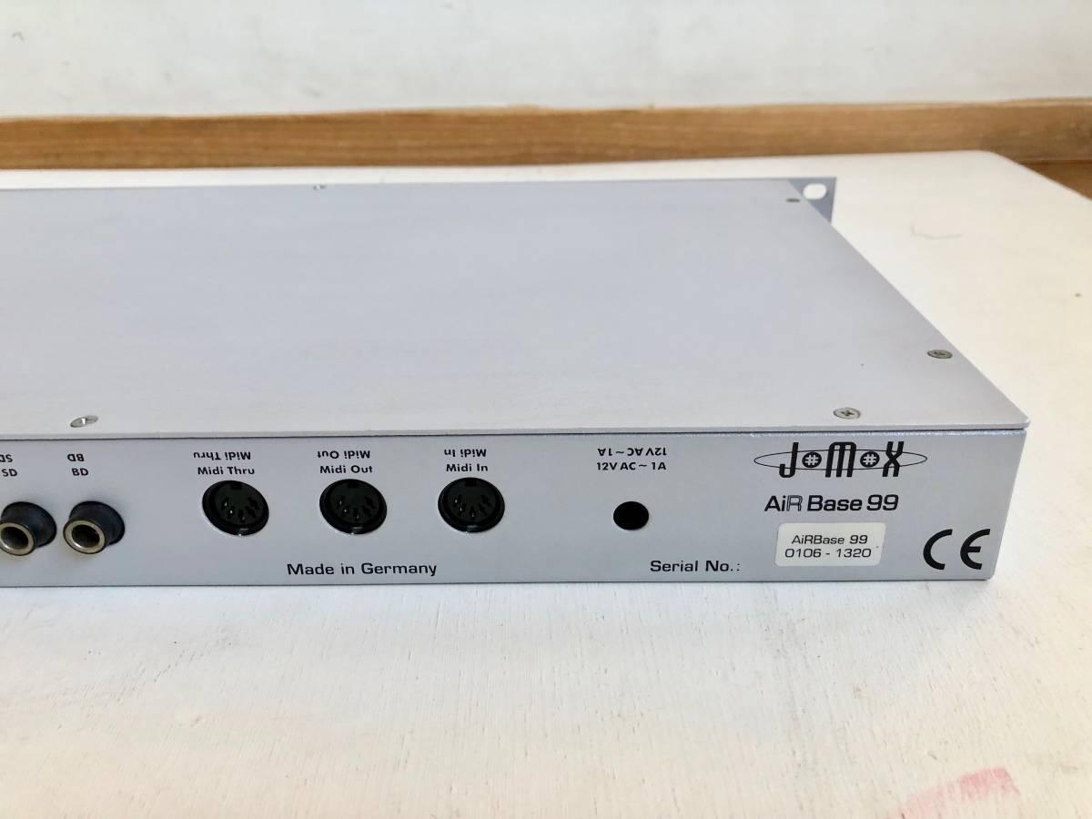 名器美品 JOMOX AirBase 99 /ラックタイプ アナログ PCMドラム音源モジュール リズムマシン / 純正アダプター 付属(検 Roland TR909 TR808)_画像6