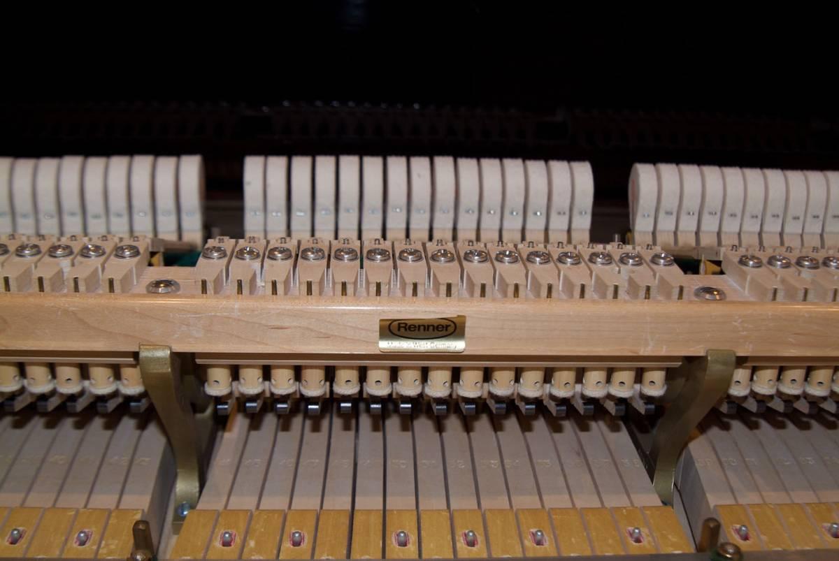 極良品・温かい美音 ベーゼンドルファー BOSENDORFER 225 1981年製 象牙鍵盤 状態極良好 オリジナル保存_画像3