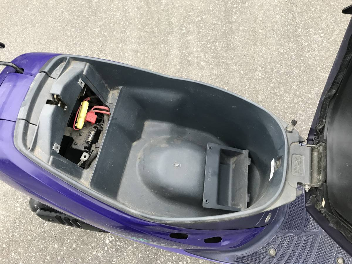 北海道●即決 ホンダ ディオ50スクータースーパーDIO50 メットイントランク現状渡し ライブタクトカブモンキーゴリラモトコンポ_画像6