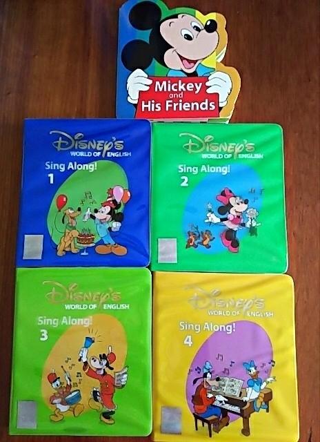 シングアロングセット DWE ディズニー英語システム Sing Along! ワールドファミリー 子供 英語 教材_画像5