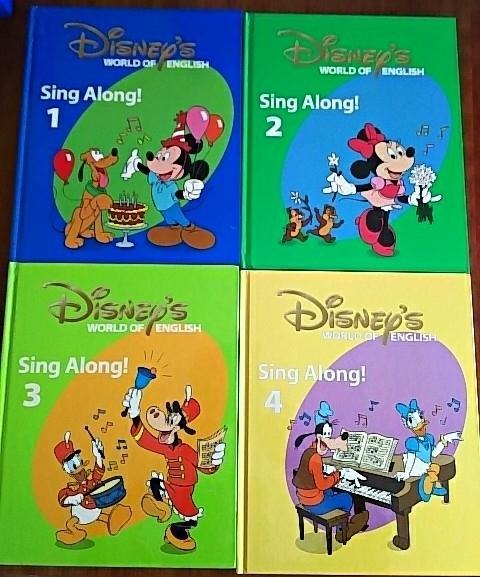 シングアロングセット DWE ディズニー英語システム Sing Along! ワールドファミリー 子供 英語 教材_画像2