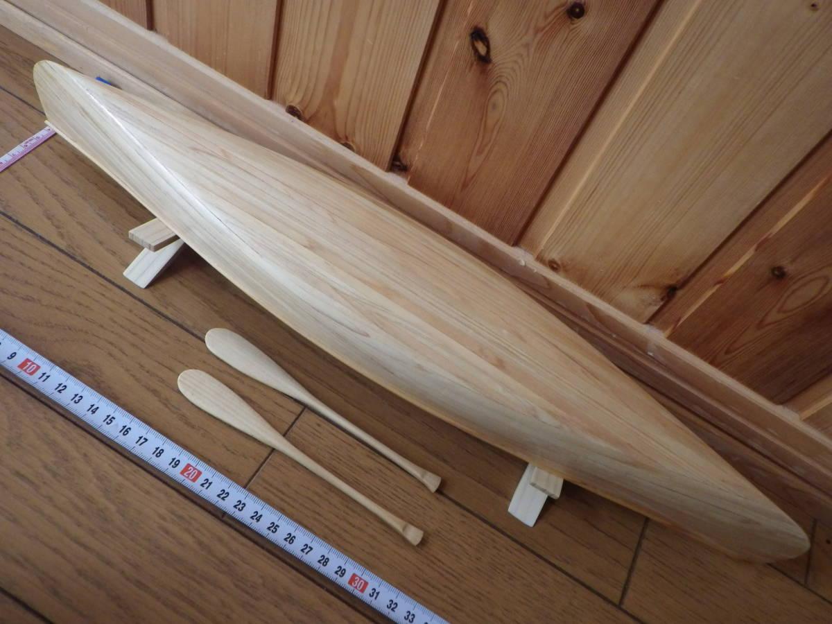 【セミオーダー】手作り カヌー模型 1/10 プロスペクター_画像5