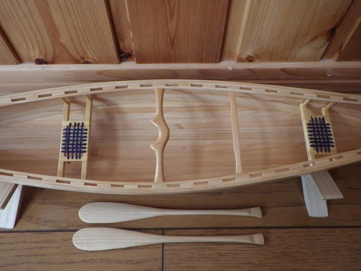 【セミオーダー】手作り カヌー模型 1/10 プロスペクター_画像7