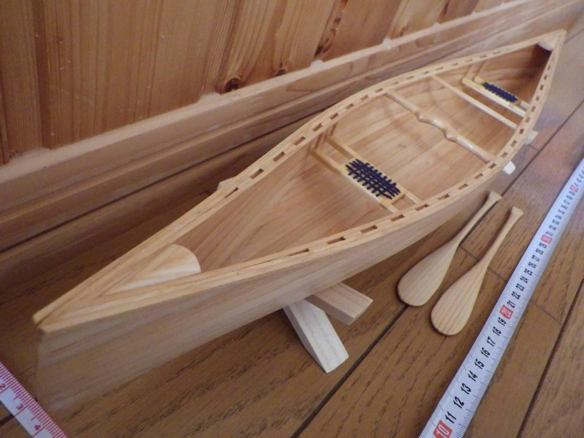 【セミオーダー】手作り カヌー模型 1/10 プロスペクター_画像1