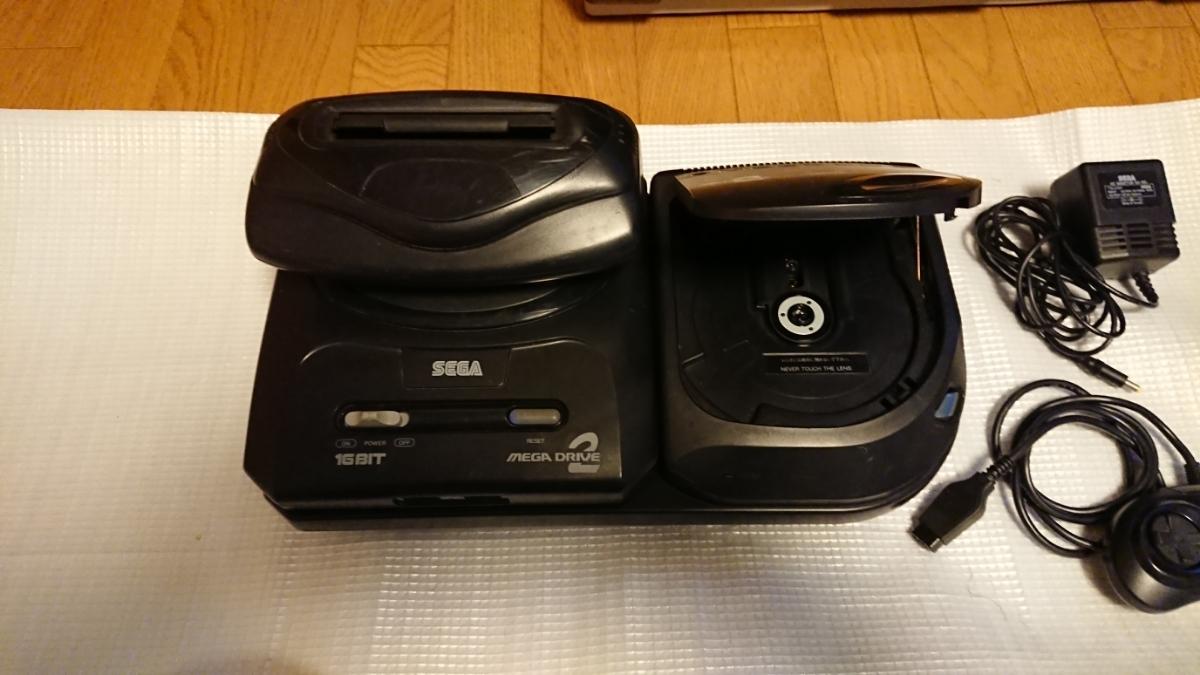 セガ メガドライブ2+メガCD2+スーパー32X HAA-2502 HAA-2912 HMA-2400_画像2