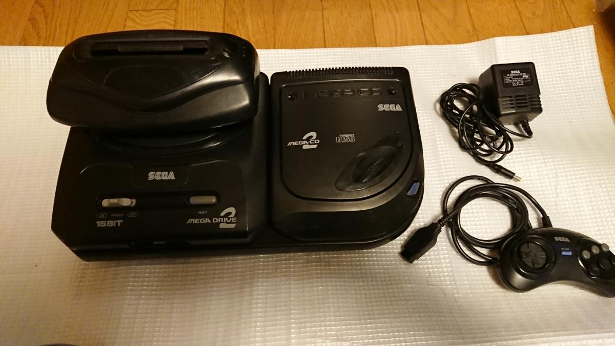 セガ メガドライブ2+メガCD2+スーパー32X HAA-2502 HAA-2912 HMA-2400