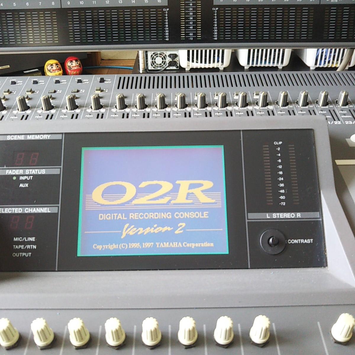 ★YAMAHA O2R version2/専用ハードケースあり/メーターブリッジ+オプション(CD8-TD+CD8-AE-S)合計3枚装備★1ヶ月間動作保障品_画像7
