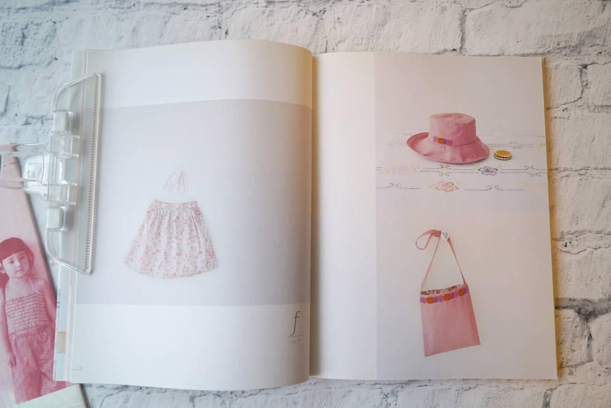 月居良子著「おんなのこの服、てづくりの服」「女の子の憧れドレス」型紙付きソーイングの本2冊_画像3